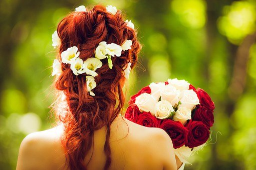 Bride, Marry, Wedding, Red Hair