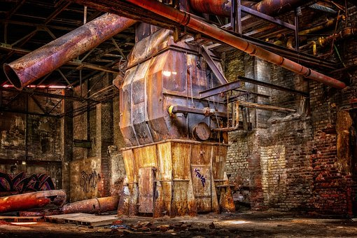 Lost Places, Factory, Industry