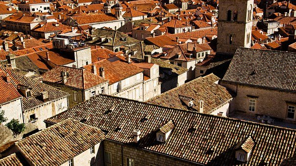 Roofs, Houses, Roof Tiles, Residential