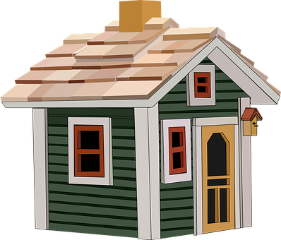 Cottage, House, Home, Building, Little