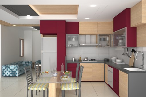 Kitchen, Interior, Kitchen Interior