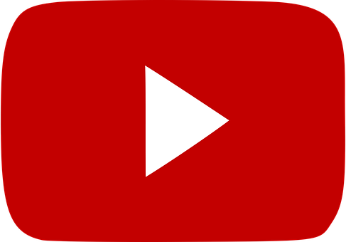 Youtube, Red, Social, Icon, Play, Video