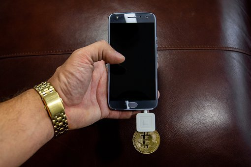 Cryptocurrency, Phone, Ledger, Business