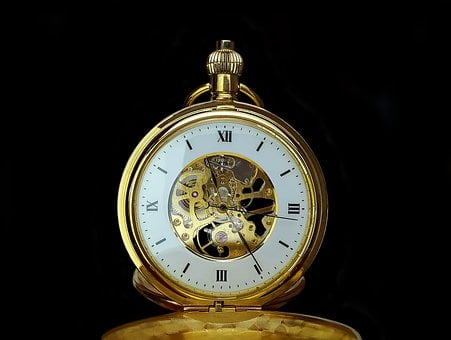 Pocket Watch, Time, Clock, Old, Hours